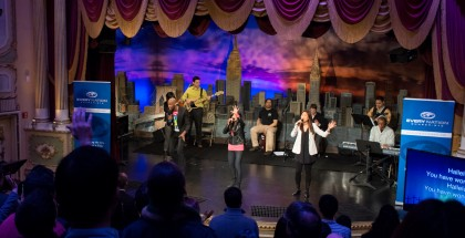 Every Nation NYC Church Worship Team at TBN Studio