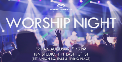 A Night of Worship Event