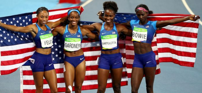 Run Well, Pass Well: A Lesson from the 2016 U.S. Olympic Track Relay Team