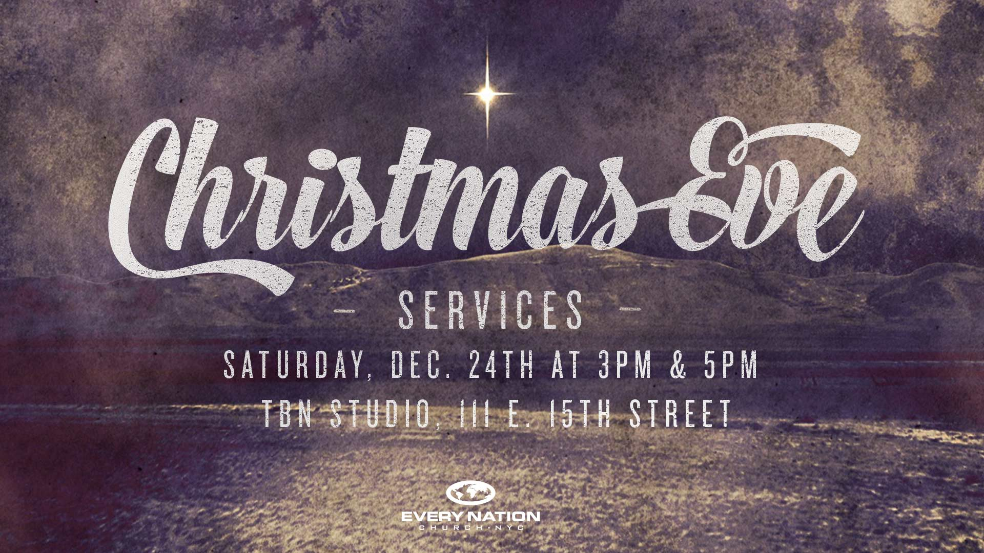 Christmas Eve Services Every Nation Church New York