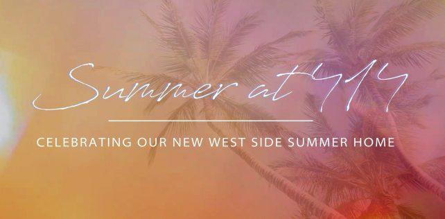 West Side Summer Relocation