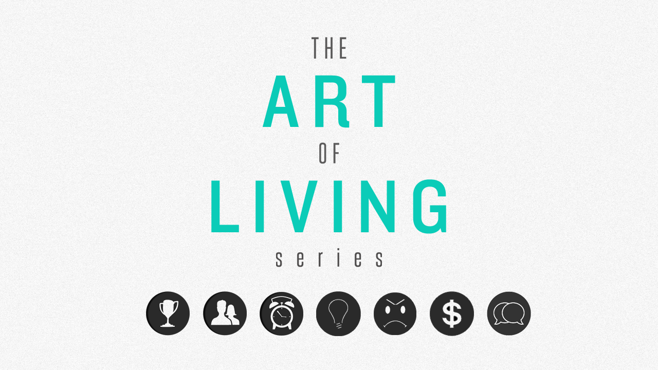 The Art of Living Series Connect Group Study Guides