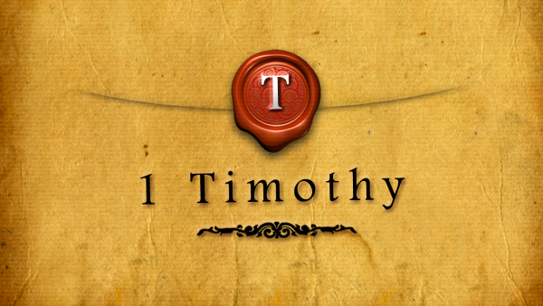 1 Timothy Series Connect Group Study Guides