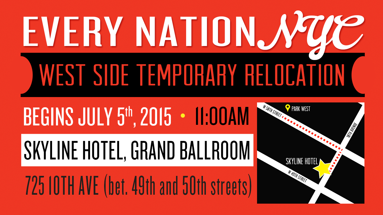 West Side Temporary Relocation to Skyline Hotel, Grand Ballroom
