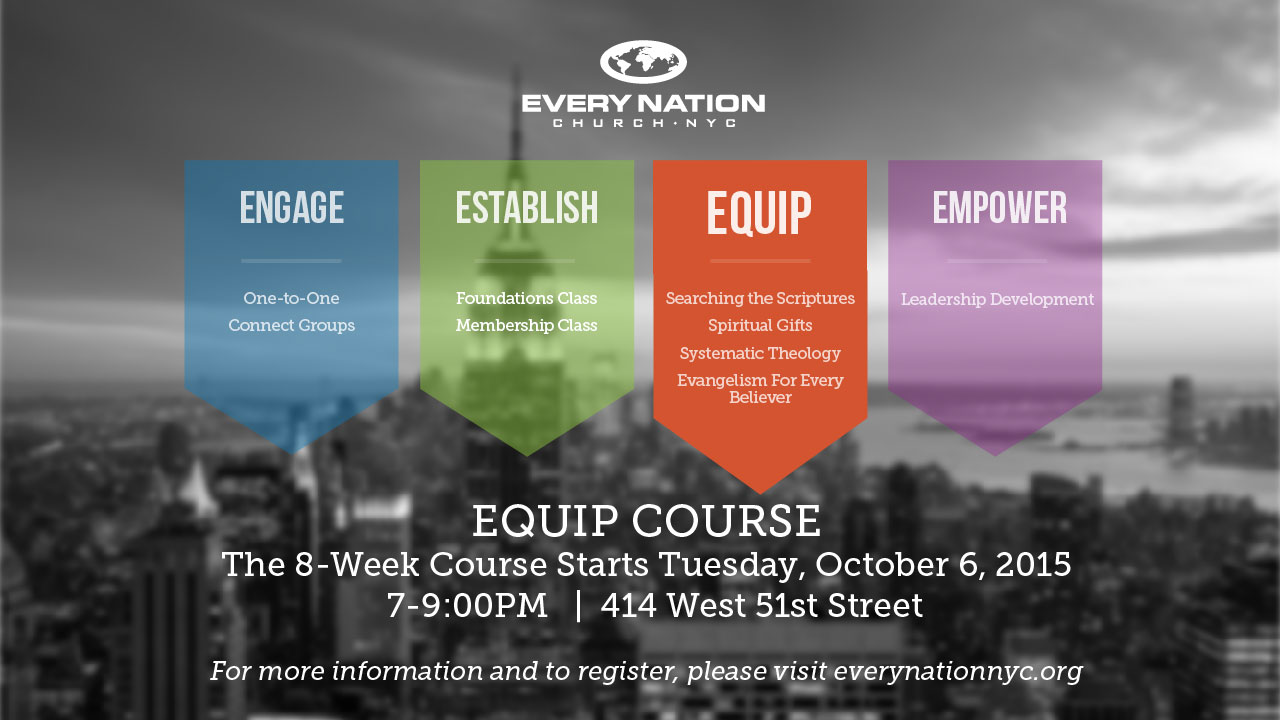 Equip Course Class Start Dates