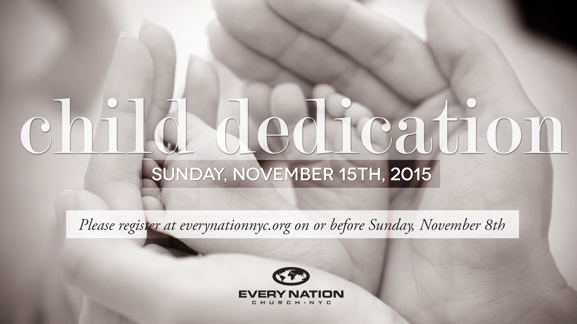 Every Nation NYC Child Dedication Service Fall 2015
