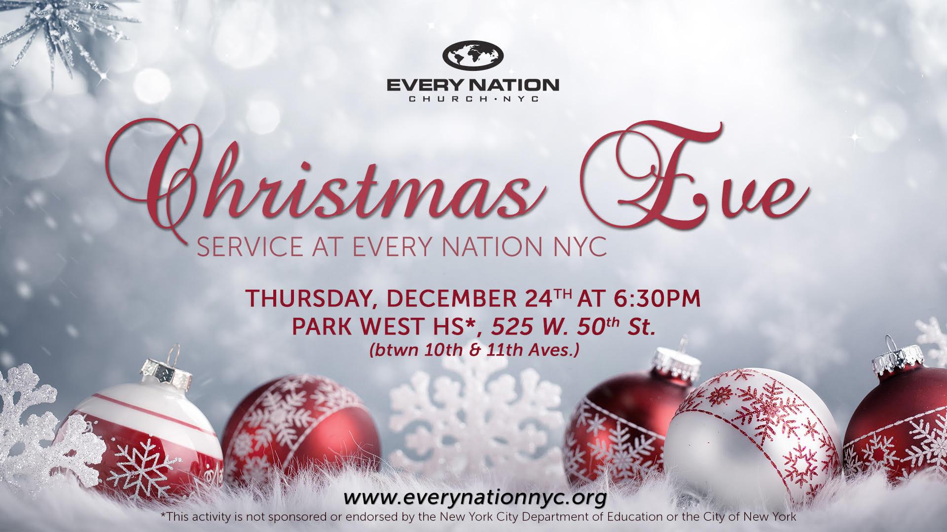Christmas Eve Service | - Every Nation Church, New York