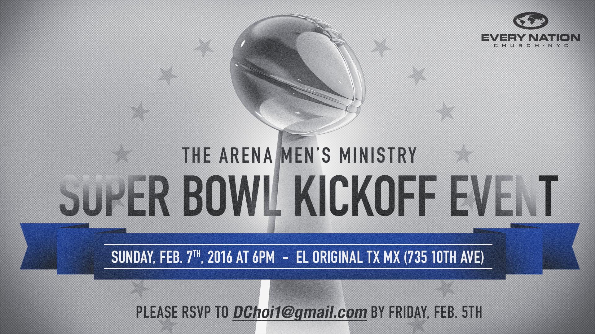 Men's Super Bowl Event 2016