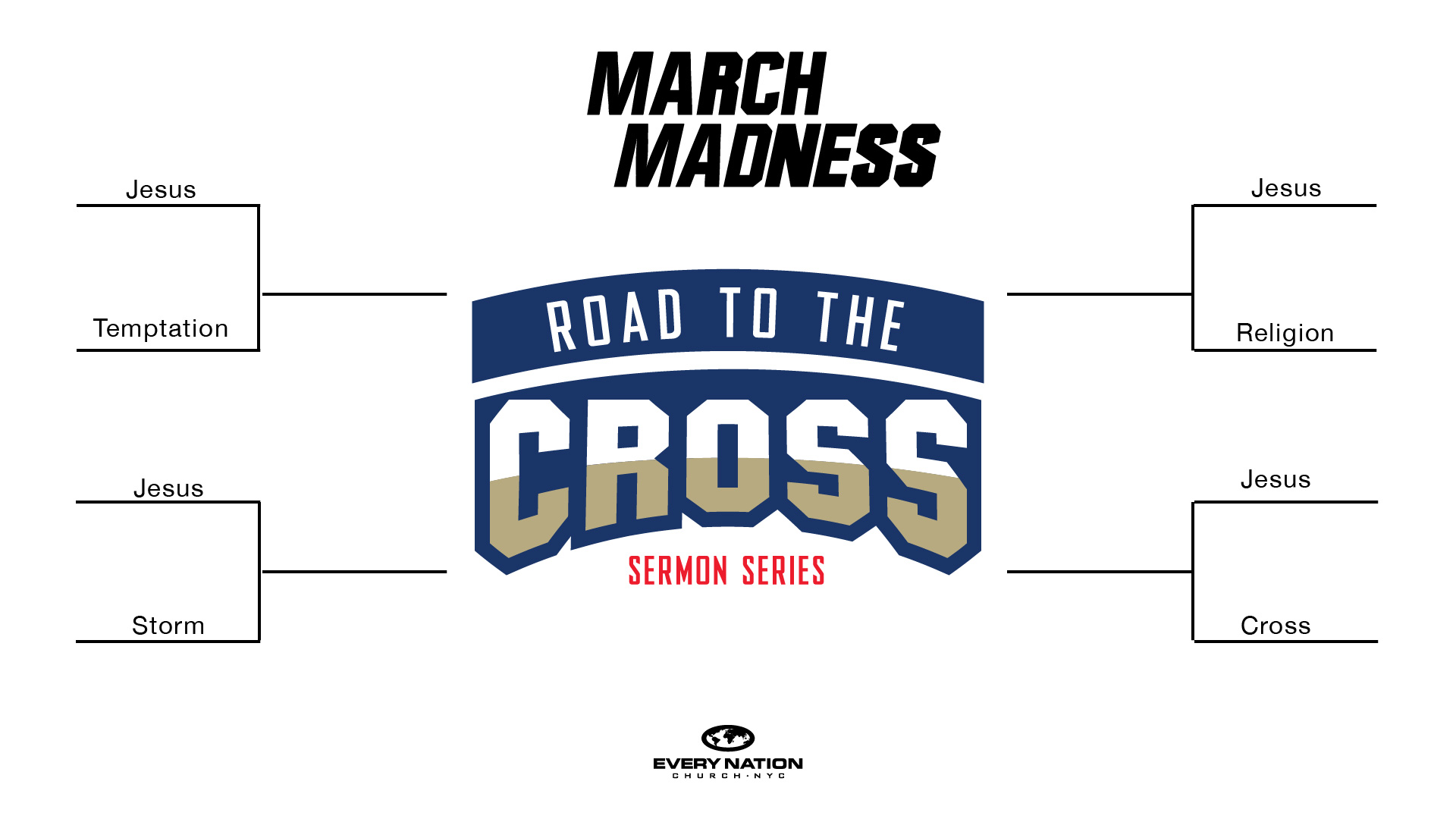 March Madness: Road to the Cross – Connect Group Study Guides