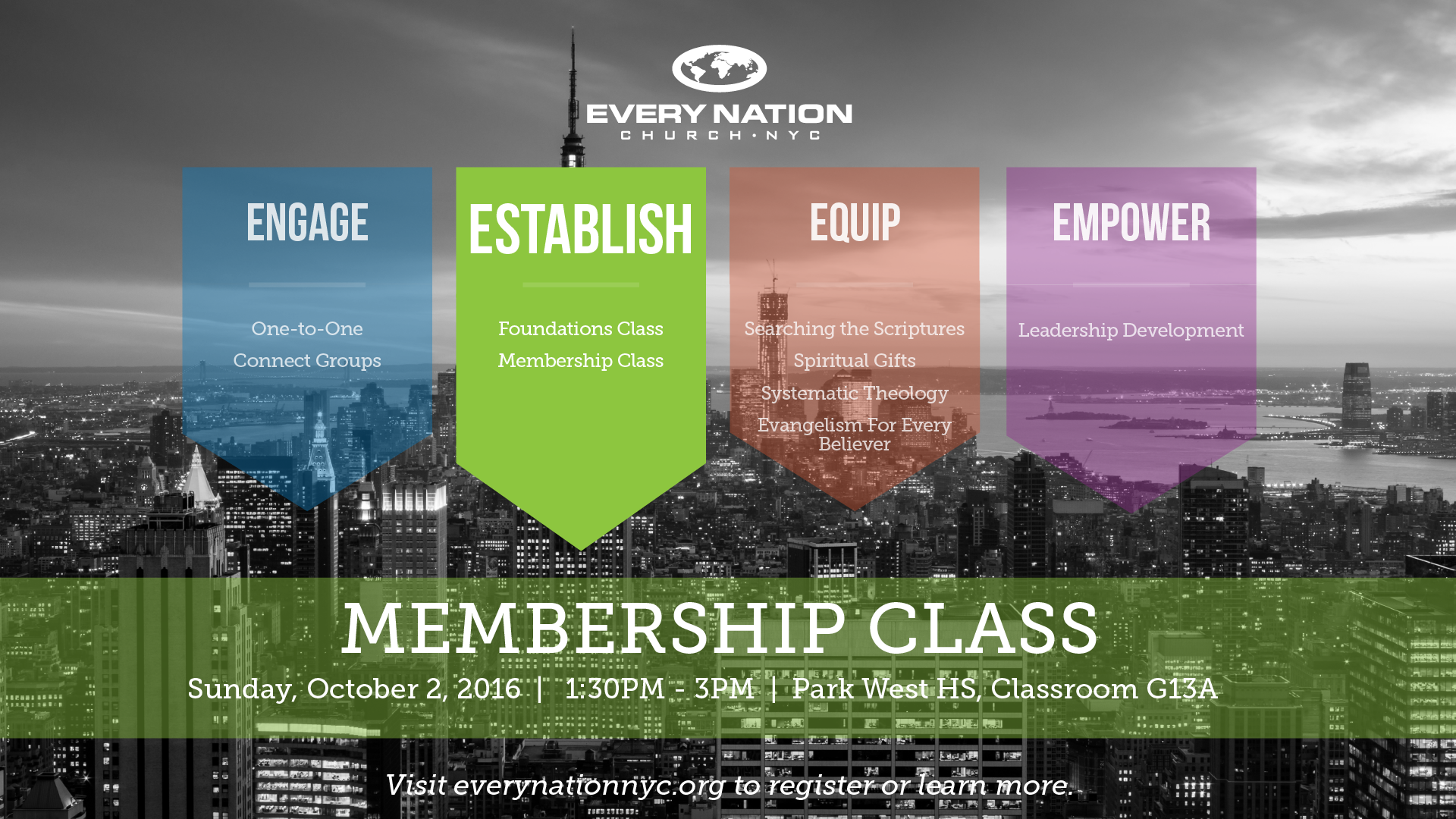 Membership Class, October 2nd