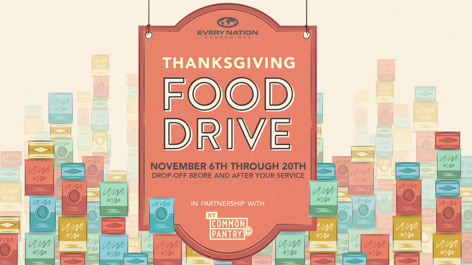 City Team Thanksgiving Food Drive