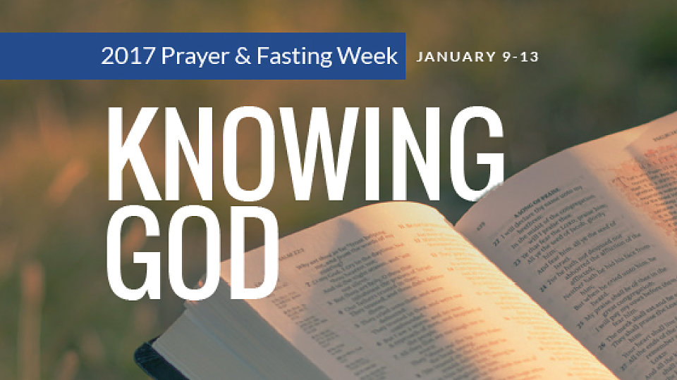 Global Week of Prayer and Fasting