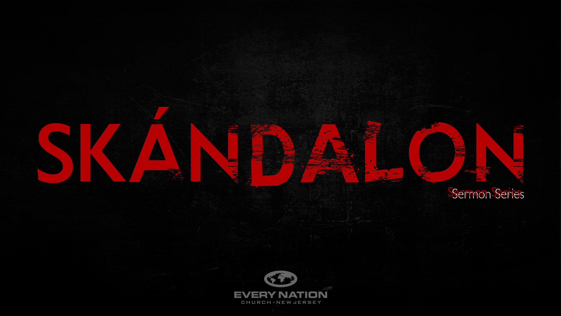 Skándalon Sermon Series