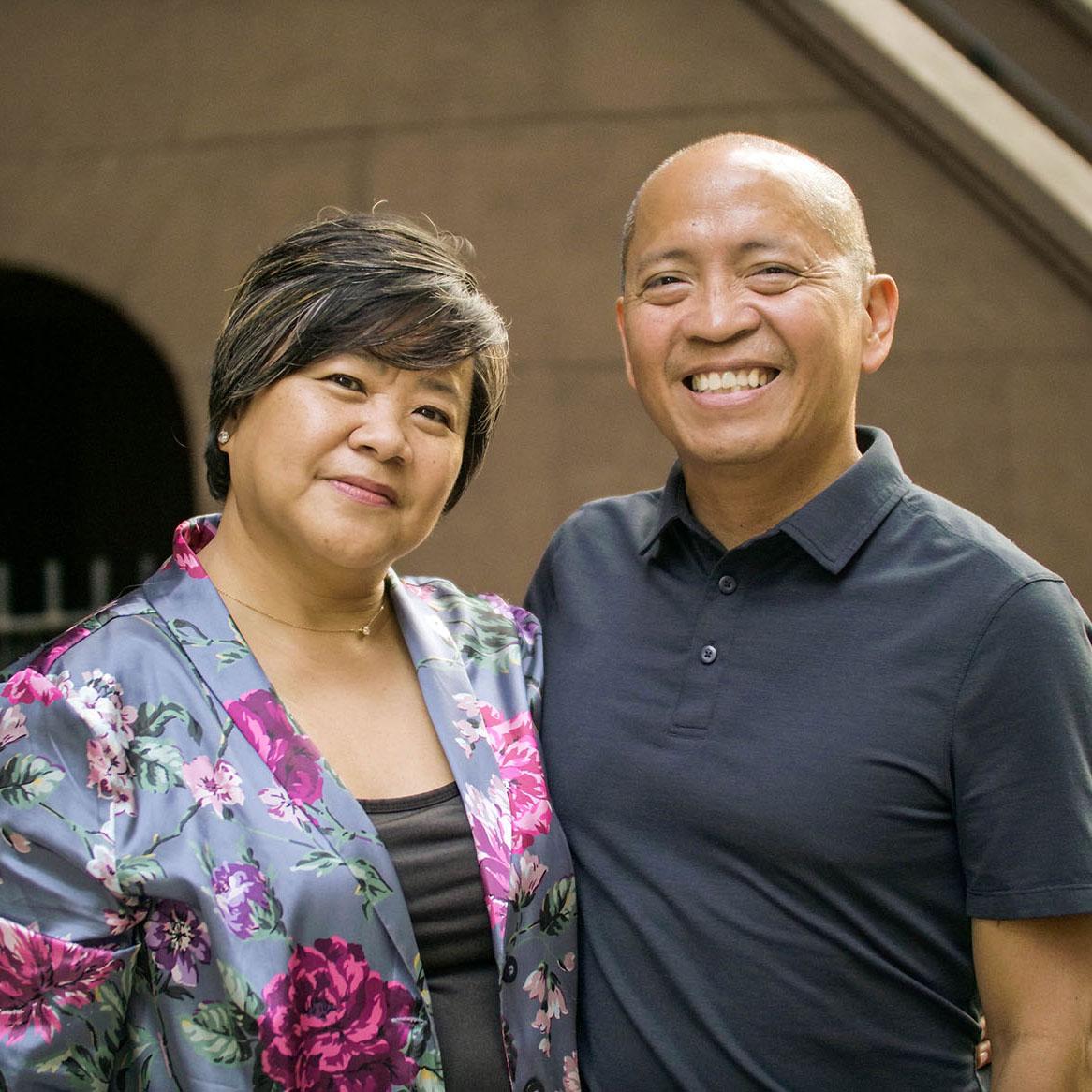 Tim and Tina Aquino